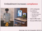 Human-Robot Interaction Socially Assistive Robotics