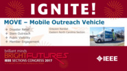 MOVE: Mobile Outreach Vehicle - Grayson Randall - Brief Sessions: Sections Congress 2017