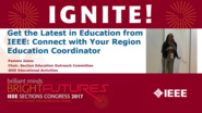Connect With Your Region Education Coordinator - Pamela Jones - Ignite: Sections Congress 2017