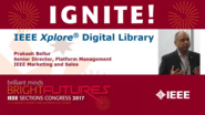 IEEE Xplore Digital Library - Prakash Bellur - Ignite: Sections Congress 2017