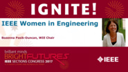 IEEE Women In Engineering - Bozenna Pasik-Duncan - Ignite: Sections Congress 2017