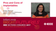Katina Michael: Pros and Cons of Implantables - Studio Tech Talks: Sections Congress 2017