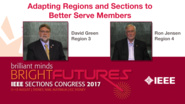 David Green and Ron Jensen: Adapting Regions and Sections to Better Serve Members - Studio Tech Talks: Sections Congress 2017