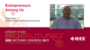 Allan Tear: Entrepreneurs Among Us - Studio Tech Talks: Sections Congress 2017