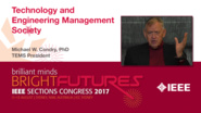 Michael Condry: Technology and Engineering Management Society - Studio Tech Talks: Sections Congress 2017