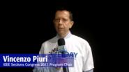 IEEE Day 2017 Testimonial: Vincenzo Piuri