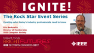 The Rock Star Event Series - Eric Berkowitz - Ignite: Sections Congress 2017