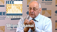 Interview with Shlomo Shamai, Part 1 - IEEE VIC Summit 2017