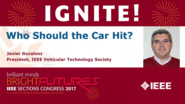 Who Should the Car Hit? Javier Gozalvez - Ignite: Sections Congress 2017