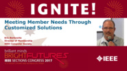 Meeting Member Needs Through Customized Solutions - Eric Berkowitz - Ignite: Sections Congress 2017