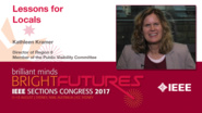 Kathleen Kramer: Lessons for Locals and Local Visibility - Studio Tech Talks: Sections Congress 2017