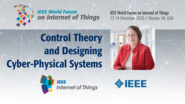 Mary Shaw: Control Theory and Designing Cyber-Physical Systems: WF IoT 2016