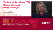 Marina Ruggieri: Technical Activities - Cooperation and New Challenges — Studio Tech Talks: Sections Congress 2017