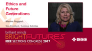 Marina Ruggieri: Ethics and Future Generations — Studio Tech Talks: Sections Congress 2017