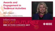 Marina Ruggieri: Awards and Engagement in Technical Activities — Studio Tech Talks: Sections Congress 2017