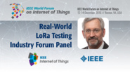 Greg Toth: Real-World LoRa Testing - Industry Forum Panel: WF-IoT 2016