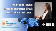 An IEEE IPC Special Session with Kasia Balakier of UCL