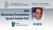 Q&A: David Kravitz - Special Session on SIoT: WF-IoT 2016
