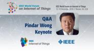 Q&A: Pindar Wong Keynote: WF-IoT 2016