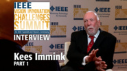 Interview with Kees Immink, Part 1 - IEEE VIC Summit 2017