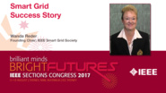 Wanda Reder: Smart Grid Success Story — Studio Tech Talks: Sections Congress 2017