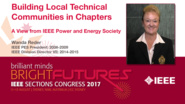 Wanda Reder: Building Local Technical Communities in Chapters — A View from IEEE Power and Energy Society — Studio Tech Talks: Sections Congress 2017