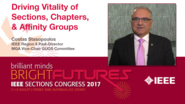 Costas Stasopoulos: Driving Vitality of Sections, Chapter and Affinity Groups - Studio Tech Talks: Sections Congress 2017