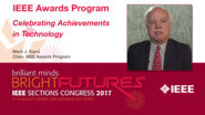 Mark Karol: IEEE Awards Program - Celebrating Achievements in Technology — Studio Tech Talks: Sections Congress 2017