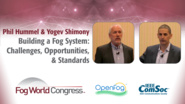 Edge To Core To Cloud IoT infrastructure For Distributed Analytics - Yogev Shimony and Phil Hummel, Fog World Congress 2017