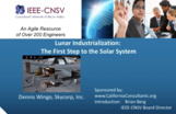 Lunar Industrialization: The First Step to the Solar System