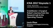 EndoMaster: A Surgical Robot's Journey from the Research Lab to the Operating Theatre