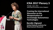 Framing the International Discussion on the Weaponization of Increasingly Autonomous Technologies