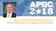 Power: A Fundamental Ingredient of Advanced Science and Applied Technology - Adam Hamilton, APEC 2018
