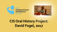 Interview with David Fogel, 2017: CIS Oral History Project