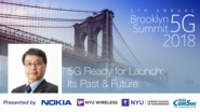5G Ready to Launch; Its Past and Future - Seizo Onoe - Brooklyn 5G Summit 2018