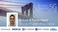 5G UE Phased Array Design - Future X Radio Panel Talk - Ozge Koymen - Brooklyn 5G Summit 2018