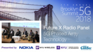 5G Phased Array Technology - Future X Radio Panel - Brooklyn 5G Summit 2018