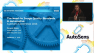 CPIQ Update and the Case for Image Quality Standards in Automotive