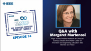 Q&A with Margaret Martonosi: IEEE Rebooting Computing Podcast, Episode 14