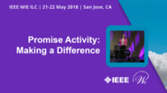 Day 2 Welcome - Promise Activity: Making a Difference - WIE ILC 2018
