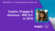 Inspire, Engage and Advance - 2019 Chair: Kathy Herring-Hayashi - WIE ILC 2018