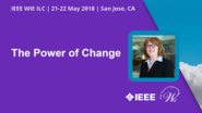 The Power of Change - Mary Gendron - WIE ILC 2018