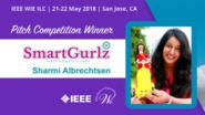 Pitch Competition Winners - 1st Place: Smart Gurlz - WIE ILC 2018
