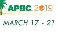 Save the Date! APEC 2019, March 17-21 in Anaheim, California