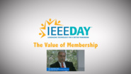 Theodore Sizer - IEEE Value of Membership Testimonial