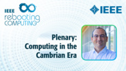 Computing in the Cambrian Era - ICRC 2018 Plenary, Paolo Faraboschi