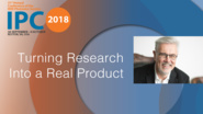 Turning Research Into a Real Product - Simon Poole - IPC 2018