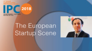 The European Startup Scene - Jose Pozo - IPC 2018