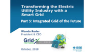 Part 3: Transforming the Electric Utility Industry with a Smart Grid: IEEE TAB Speakers Bureau