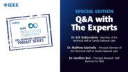 Q&A with the Experts: IEEE Rebooting Computing Podcast, Special Edition